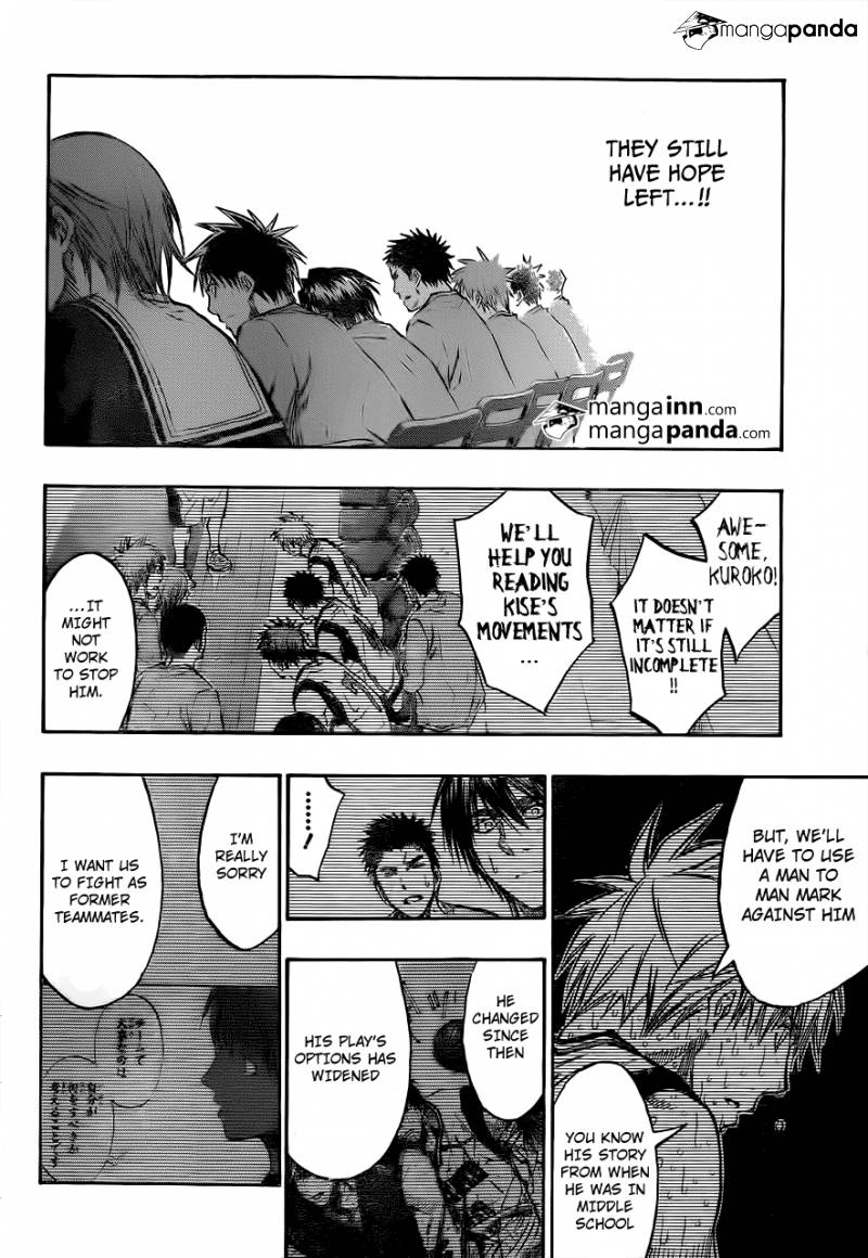 Kuroko no Basket Manga Chapter 202 - Image 06