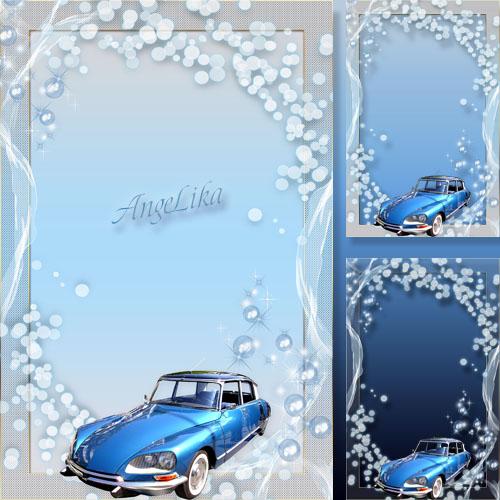 Рамка для мальчиков - Мое хобби-модели автомобилей