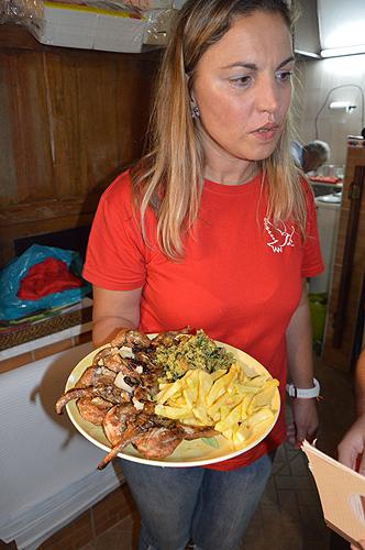 Foram apresentados diversos pratos