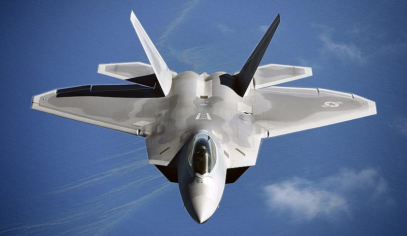 Lockheed Martin F-22 Raptor with Video