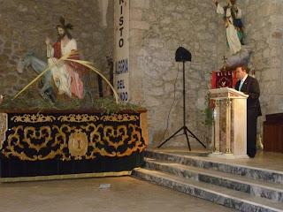 Pregón de Semana Santa (Ángel Novillo Prisuelos)