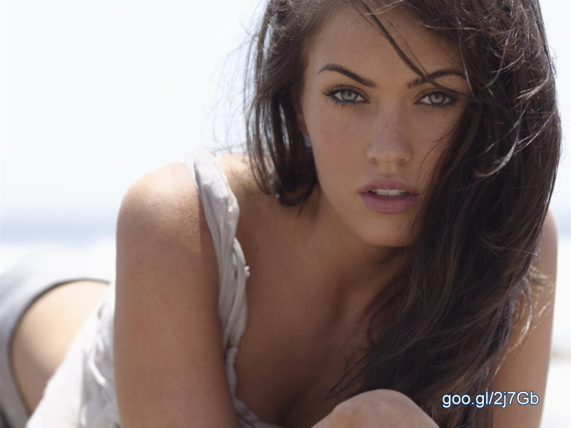 Megan Fox photographs