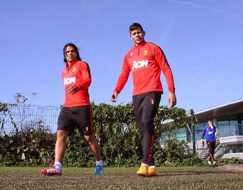Chùm ảnh: Buổi tập nặng của Man United
