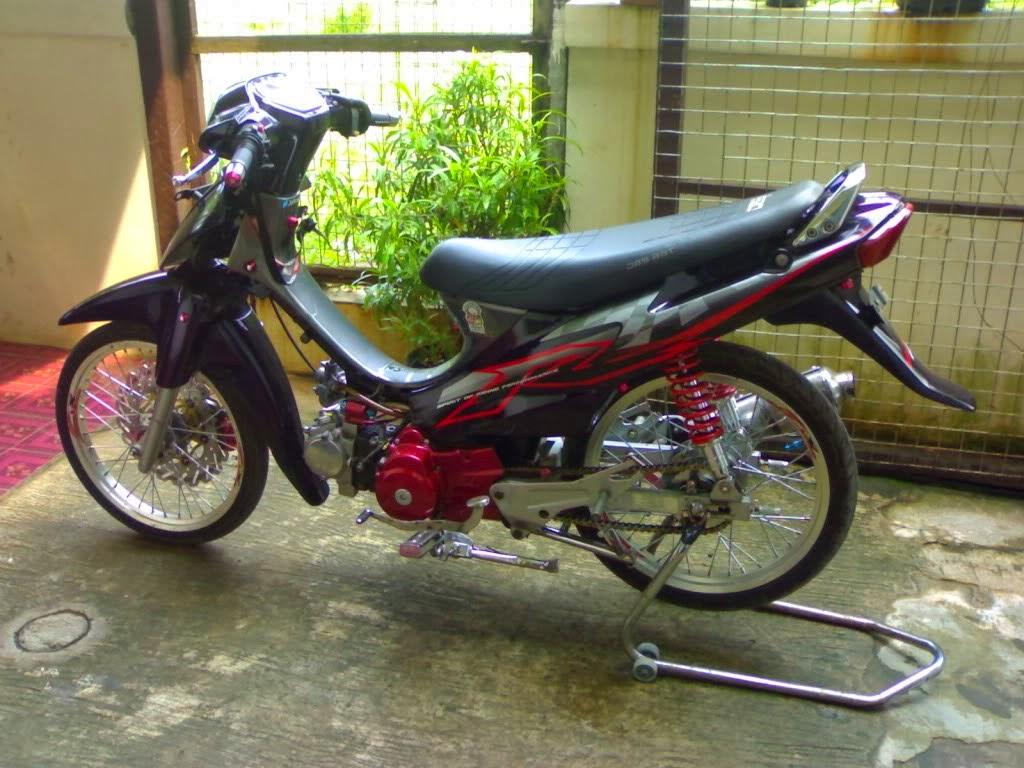Foto Modifikasi Suzuki Shogun Sp