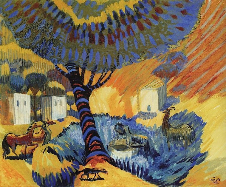 Martiros Saryan - At the well,1908