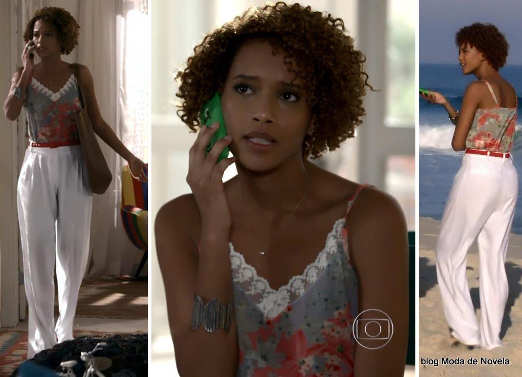 moda da novela Geração Brasil - look da Verônica dia 29 de maio