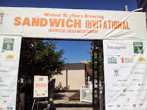 Feast Portland 2013 Day 1 Recap Widmer Sandwich Invitational gate at Feast Portland