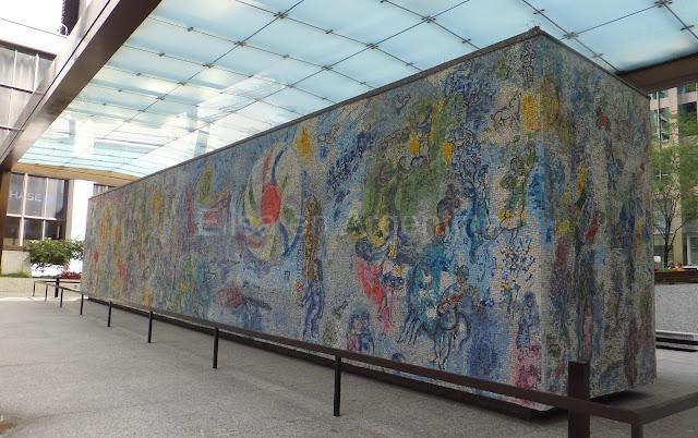 Las Cuatro Estaciones, Chagall, The Loop, Chicago, Elisa N, Blog de Viajes, Lifestyle, Travel