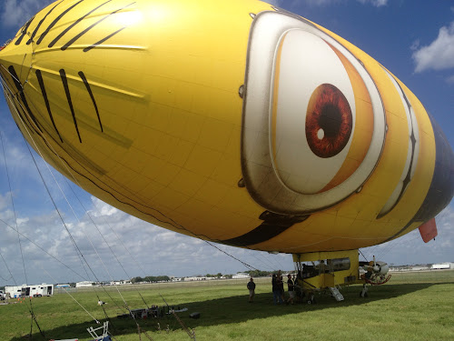 Photo Gallery: Despicablimp Spotted In Orlando