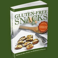 gluten-free snacks e-cookbook cover