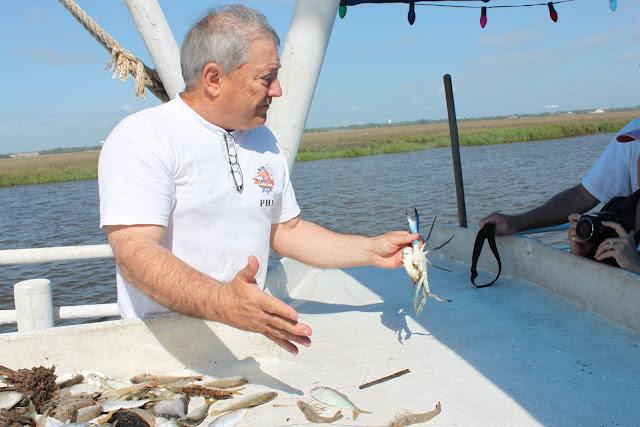 shrimp boat tour