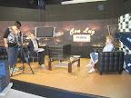 Entrevista en el plató de TV Cablemel de Melilla