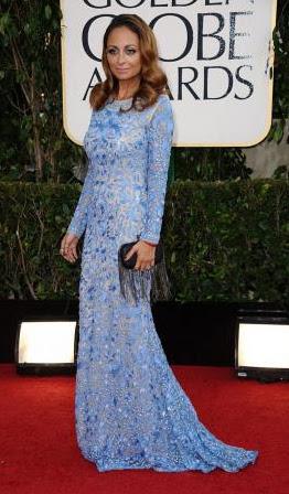 Nicole Richie - Golden Globe 2013