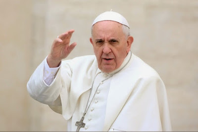 Pope Francis says evolution is real and God is no wizard