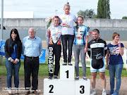 Jennyfer Championne de Bourgogne piste - Minimes/Cadettes