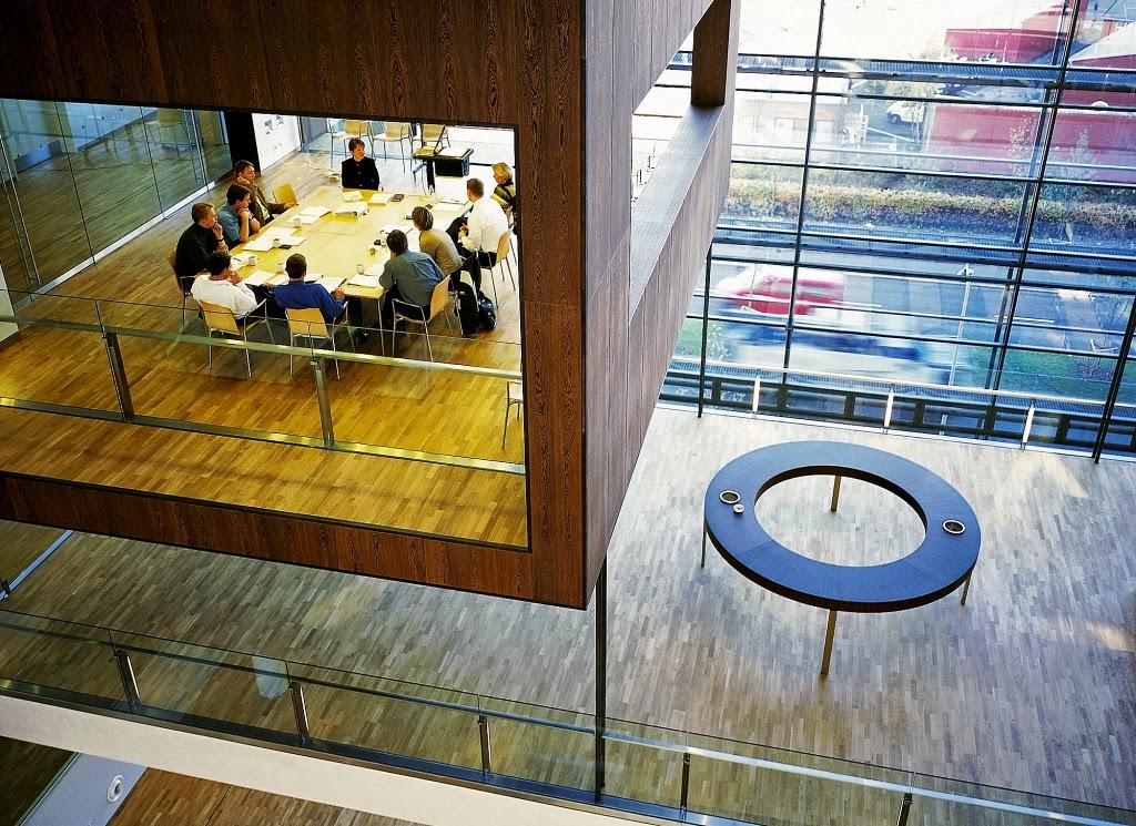 *Nykredit Headquarters:玻璃帷幕的設計猶如一棟水晶大樓! 4