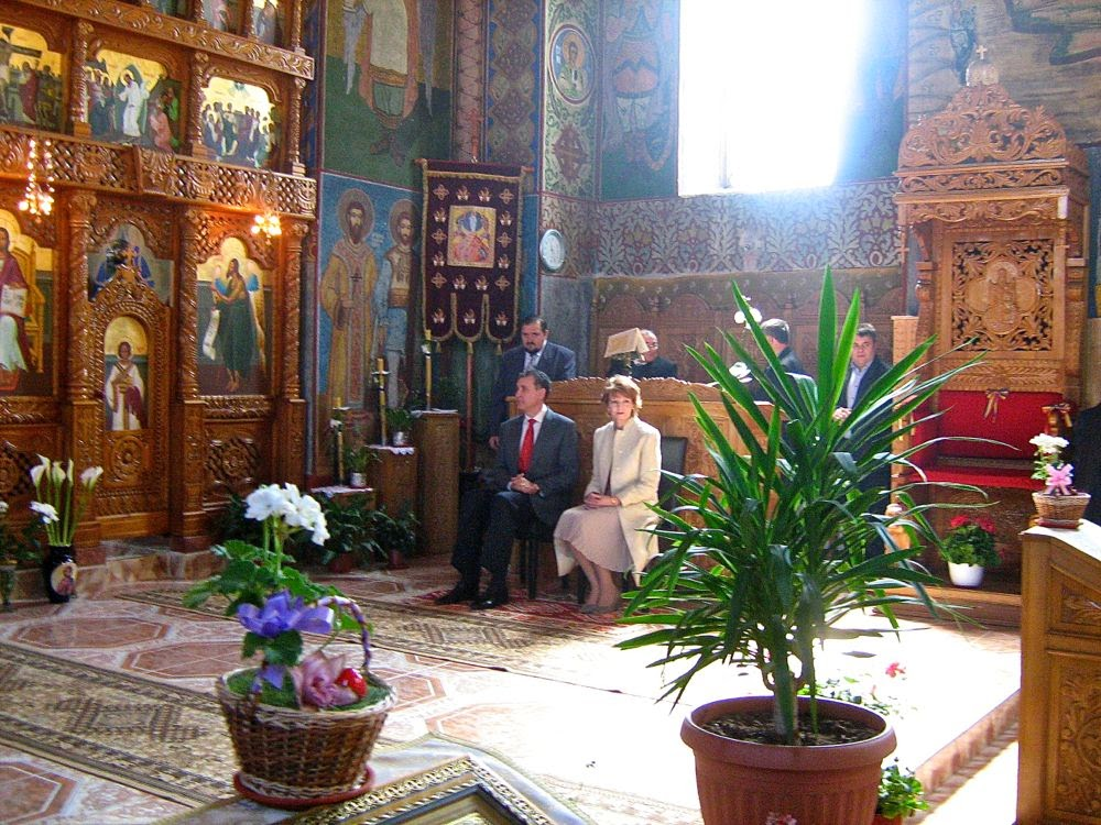 Săvârşin, Paşte 2014 - Principesa Moştenitoare Margareta, Principele Radu