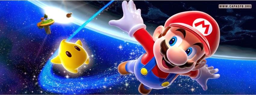 Capas para Facebook Super Mario World