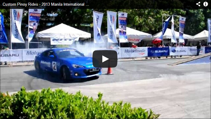 Custom Pinoy Rides 2013 Manila International Auto Show Video Coverage