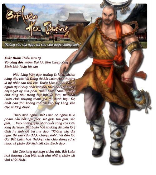 Những nhân vật nổi bật trong Cửu Long Tranh Bá 4