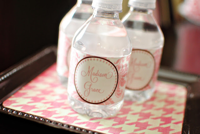 Baby Shower Water Bottle Labels Template Viewing Gallery