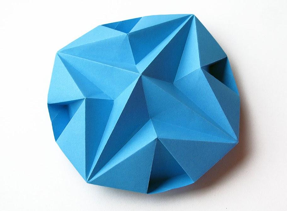 Origami foto Stella dodecagonale - Dodecagonal Star by Francesco Guarnieri