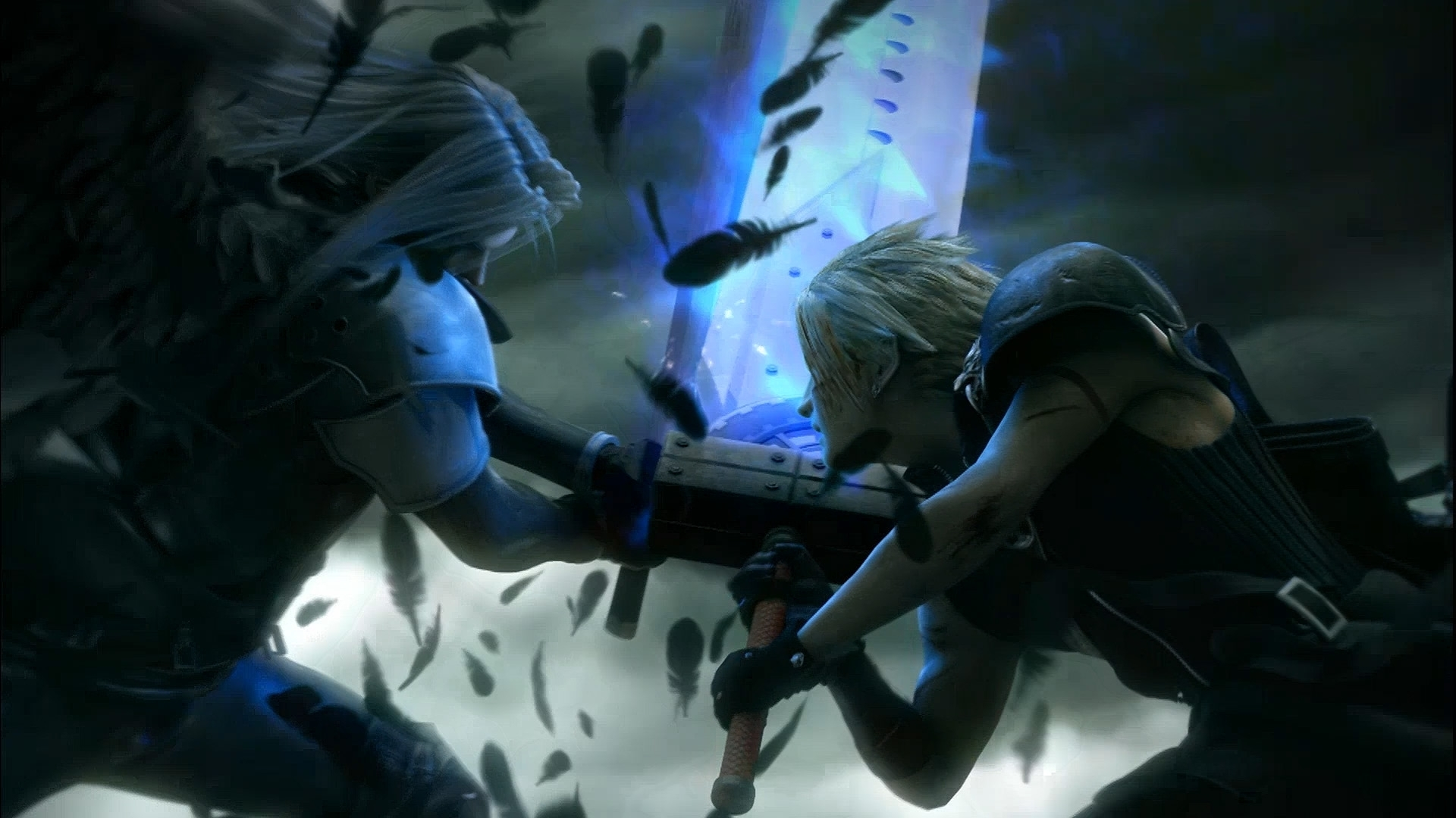 Final Fantasy VII Advent Children Sephiroth vs Cloud Strife