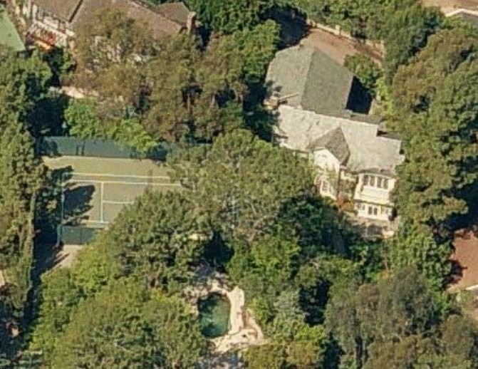 Jessica Simpson's house in Beverly Hills, California