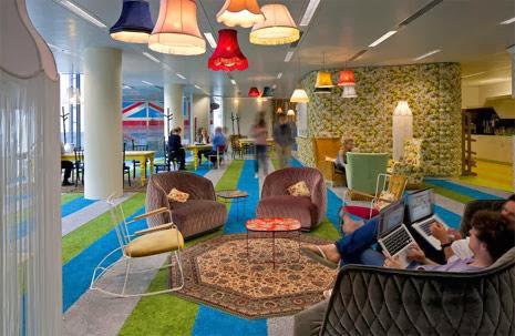 Innovación en las oficinas en el intento de aumentar la productividad