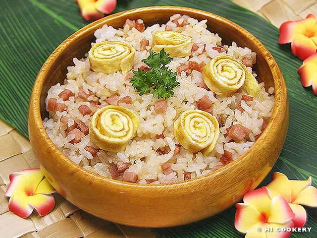 Spam Fried Rice | HI COOKERY