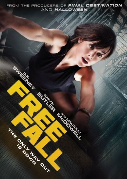 Poster Of English Movie Free Fall (2014) Free Download Full New Hollywood Movie Watch Online At Alldownloads4u.Com