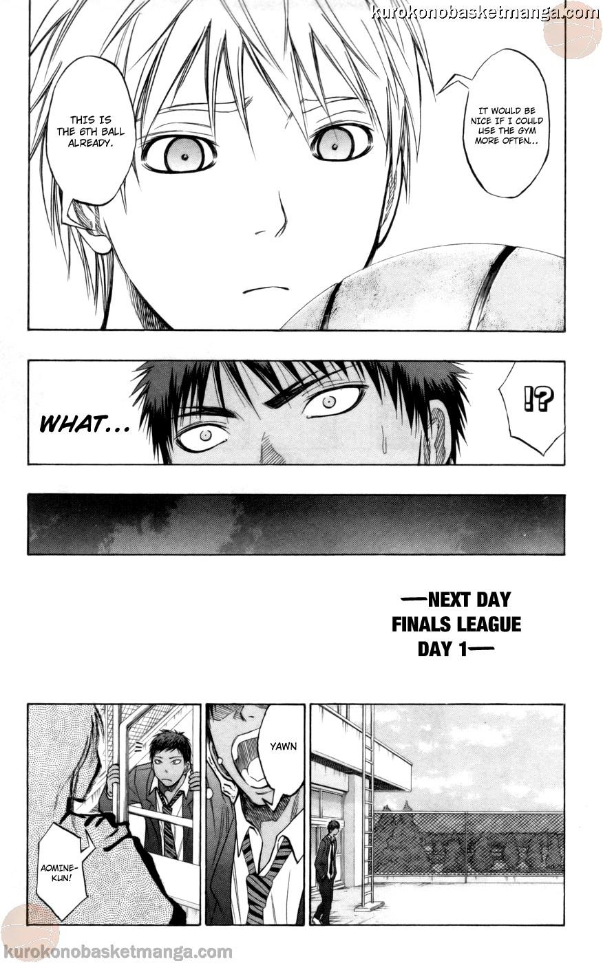 Kuroko no Basket Manga Chapter 84 - Image 09
