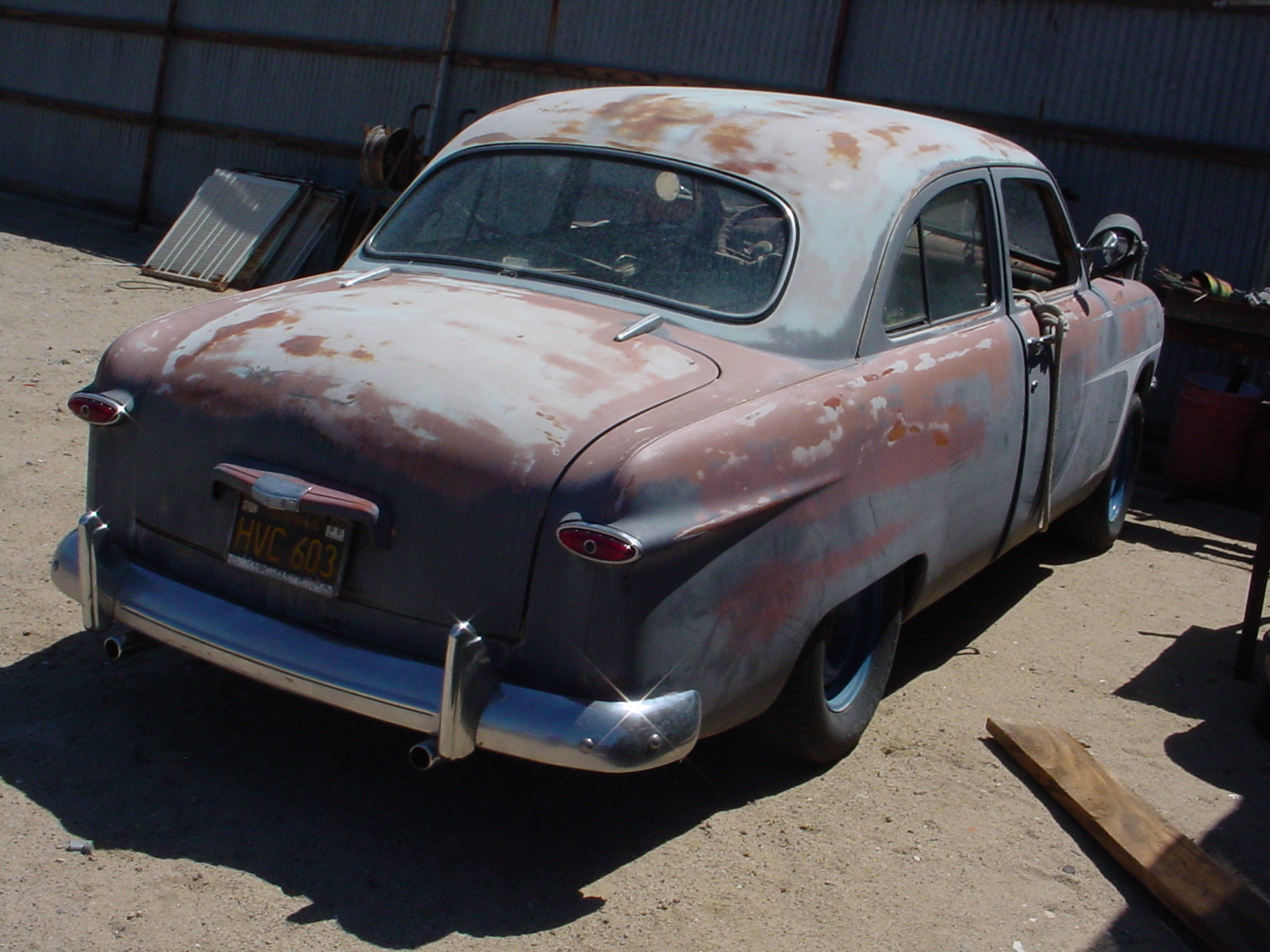 Selling my 1950 Shoebox Ford (builder)