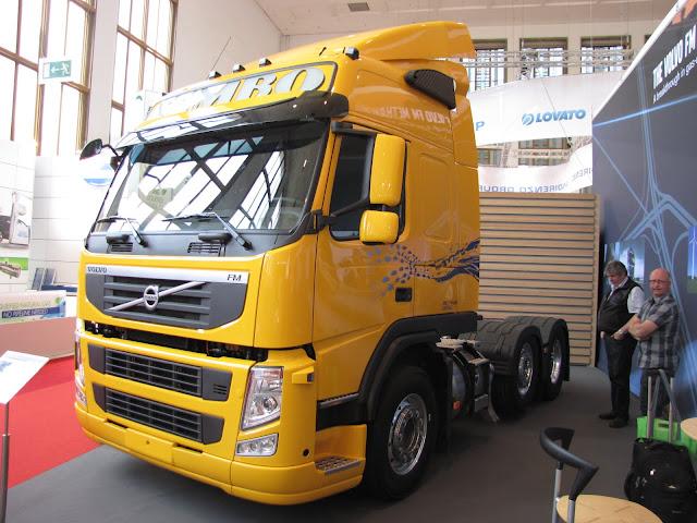 Volvo Methan Diesel biodiesel + LNG