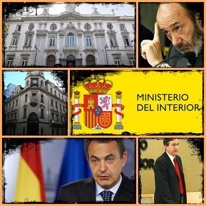 Hojas de ishtar el ministerio del interior no obedece al for Sueldos ministerio del interior