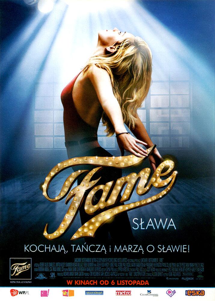 Ulotka filmu 'Fame (przód)'