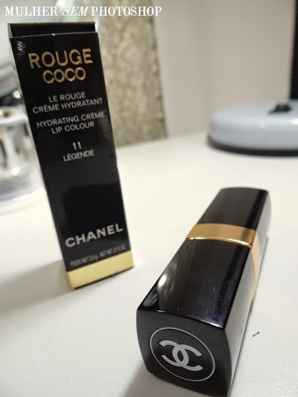 Resenha do batom Rouge Coco da Chanel, cor Legende