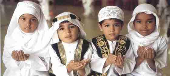 senyum anak pendidikan islam
