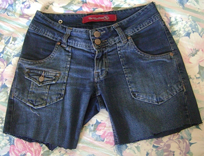 Shorts Jeans Customizados