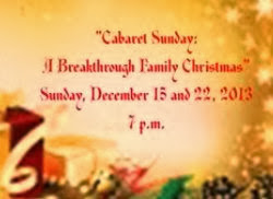 Breakthrough Theatre Cabaret Sunday: A Breakthrough Family Christmas