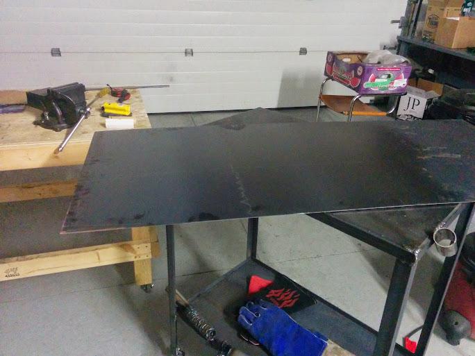 sheet metal seat pan