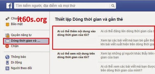 Thủ thuật ngăn chặn người khác đăng bài lên tường Facebook 4