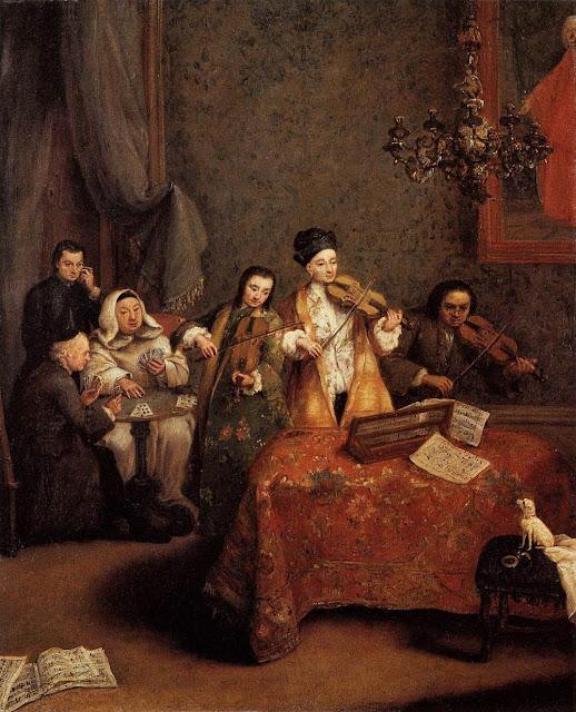 Pietro Longhi - The Concert