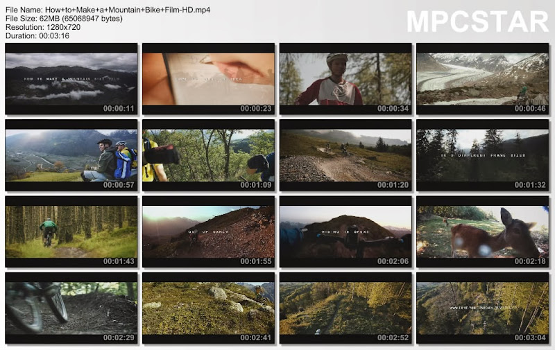 Snapshot How to Make a Mountain Bike Film
