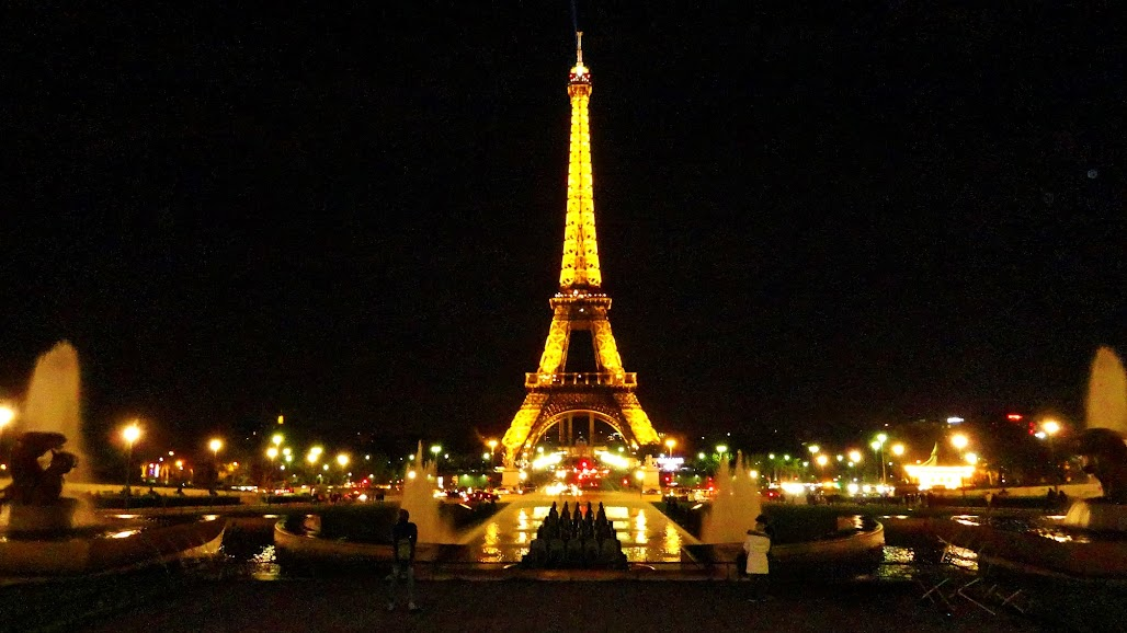 Выходные в Париже.