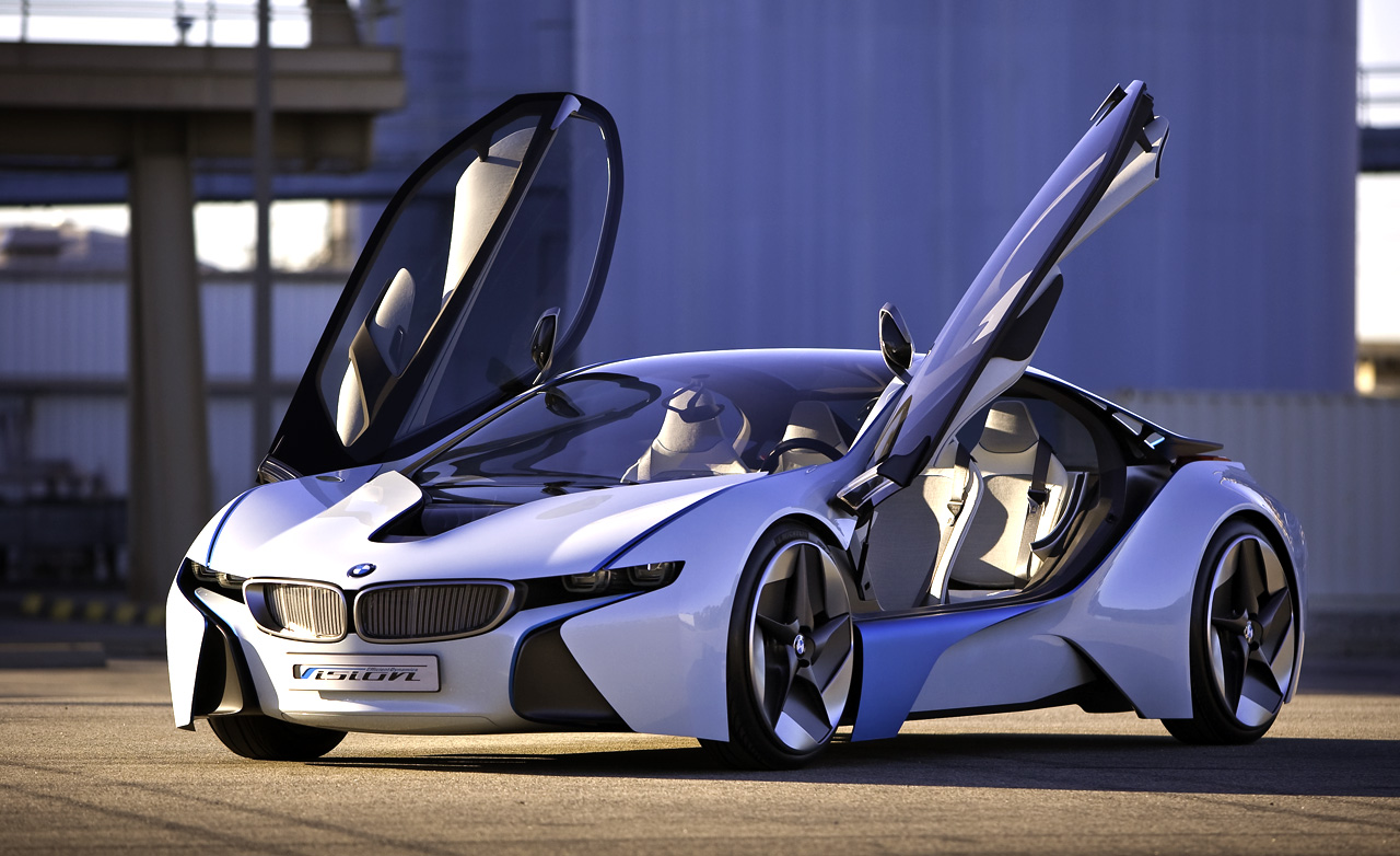 sportscar all new bmw i8 vision efficient dynamic concept hybrid technology. Black Bedroom Furniture Sets. Home Design Ideas