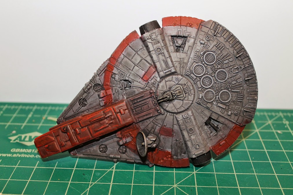 Finished YT-1300, Top