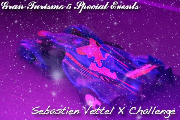 Gran Turismo 5 Sebastien Vettel X Challenge