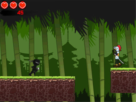 Midnight Ninja Rush v1.2 for BlackBerry