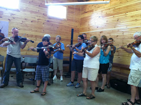 PEI Fiddle Camp - Student Concert - Richard Wood's Fiddle class